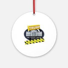 Unique Election 2016 Round Ornament