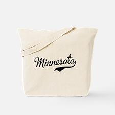 Minnesota Script Font Tote Bag
