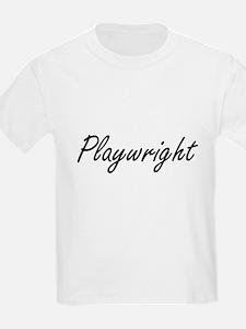 Playwright Artistic Job Design T-Shirt