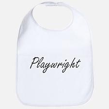 Playwright Artistic Job Design Bib
