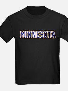 Minnesota Blue Jersey Font T