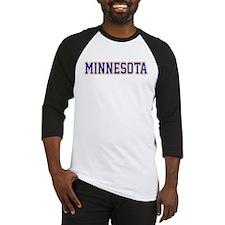 Minnesota Blue Jersey Font Baseball Jersey
