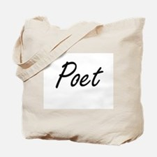 Poet Artistic Job Design Tote Bag