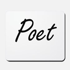 Poet Artistic Job Design Mousepad