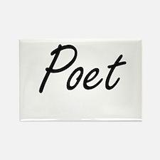 Poet Artistic Job Design Magnets