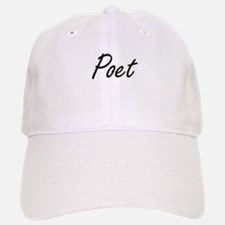 Poet Artistic Job Design Baseball Baseball Cap