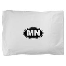 Minnesota MN Euro Oval Pillow Sham