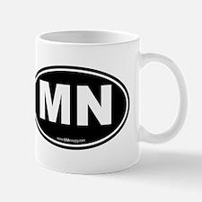 Minnesota MN Euro Oval Mug