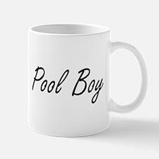 Pool Boy Artistic Job Design Mugs