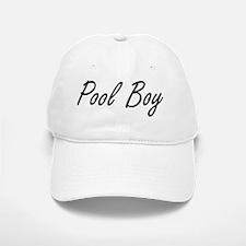 Pool Boy Artistic Job Design Baseball Baseball Cap