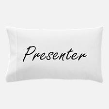 Presenter Artistic Job Design Pillow Case