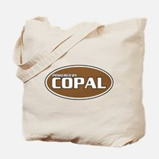 Powered By Copal Tote Bag
