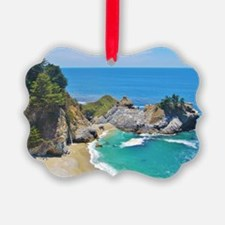 Cute Waterfalls Picture Ornament