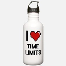 I love Time Limits dig Water Bottle