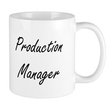 Production Manager Artistic Job Design Mugs