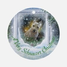 """Schnauzer Christmas"" Ornament"