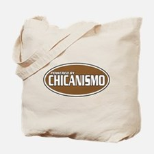 Powered By Chicanismo Tote Bag