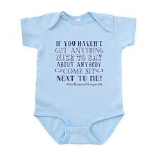 Funny Alice Roosevelt Longworth Qu Infant Bodysuit