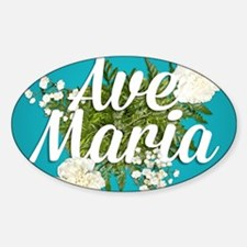 Ave Maria Decal