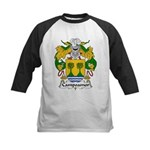 Campoamor Family Crest  Kids Baseball Jersey