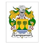 Campoamor Family Crest  Small Poster
