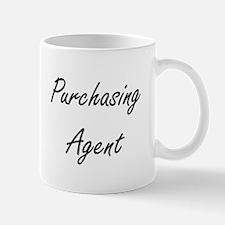 Purchasing Agent Artistic Job Design Mugs