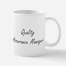 Quality Assurance Manager Artistic Job Mugs
