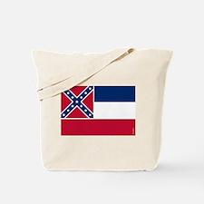 Mississippi State Flag Tote Bag