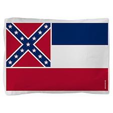 Mississippi State Flag Pillow Sham