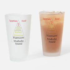 Egyptian Food Pyramid Drinking Glass