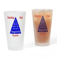 Australian Food Pyramid Pint Glass