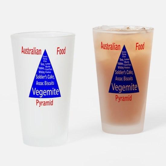 Australian Food Pyramid Pint Glass