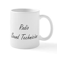 Radio Sound Technician Artistic Job Design Mugs