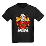 Campillo Family Crest Kids Dark T-Shirt