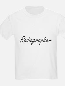 Radiographer Artistic Job Design T-Shirt