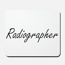 Radiographer Artistic Job Design Mousepad