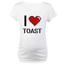 I love Toast digital design Shirt