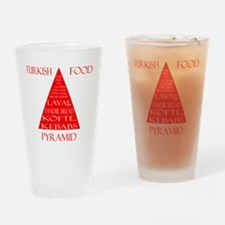 Turkish Food Pyramid Drinking Glass