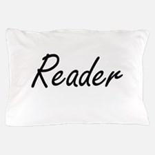 Reader Artistic Job Design Pillow Case
