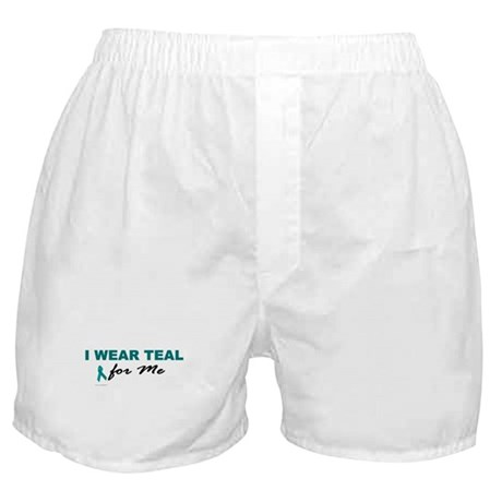 I Wear Teal For Me 2 Boxer Shorts