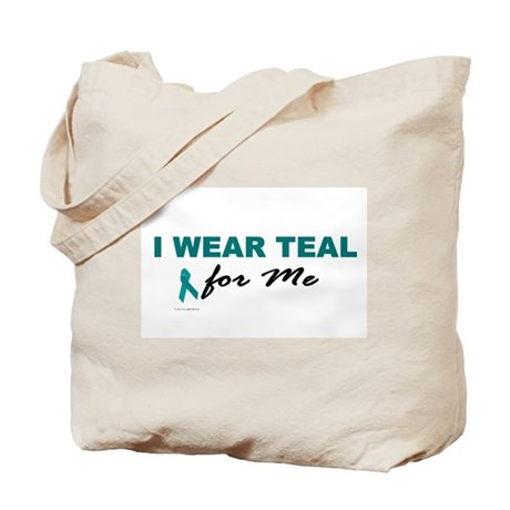 I Wear Teal For Me 2 Tote Bag