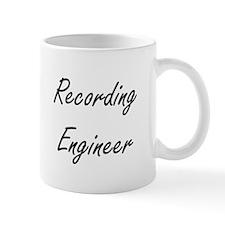 Recording Engineer Artistic Job Design Mugs