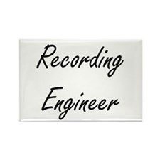 Recording Engineer Artistic Job Design Magnets
