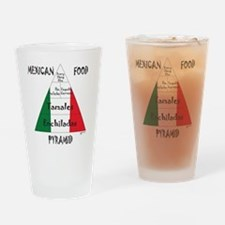 Mexican Food Pyramid Pint Glass