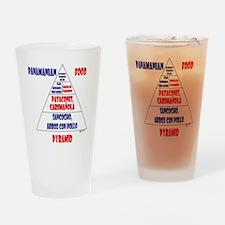 Panamanian Food Pyramid Pint Glass