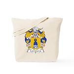 Campana Family Crest Tote Bag
