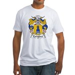 Campana Family Crest Fitted T-Shirt