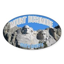 Mount Rushmore National Monument Oval Decal