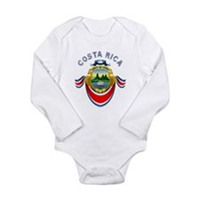 Costa Rica Long Sleeve Infant Bodysuit