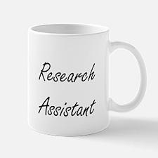 Research Assistant Artistic Job Design Mugs